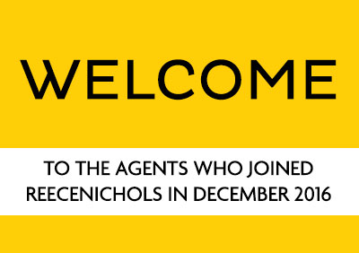 Welcome December 2016 New Agents