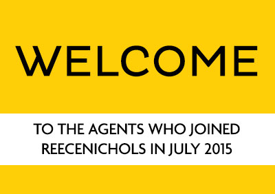 Welcome July 2015 New Agents!