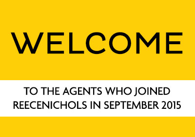 Welcome September 2015 New Agents!
