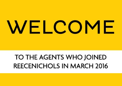 Welcome March 2016 New Agents!