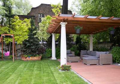 Create a Backyard Retreat for All 4 Seasons