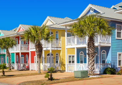 beach vacation homes
