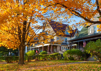 fall-neighborhood-homes