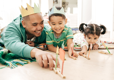 father-playing-with-two-kids