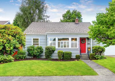 grey-house-red-door