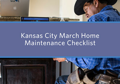 March home maintenance checklist