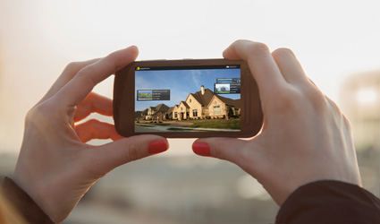 Search nearby homes for sale with ReecNichols Home Search App