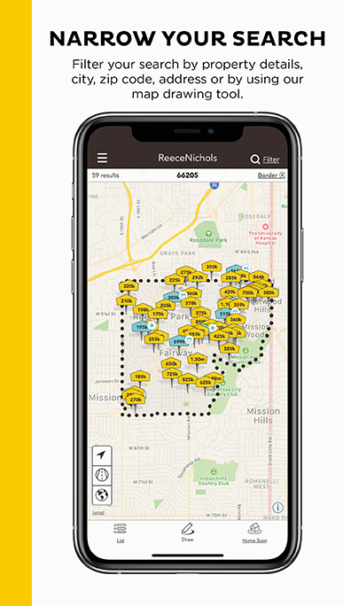 Narrow Your Search. Filter your search by property details, city, zip code, address or by using our map drawing tool.