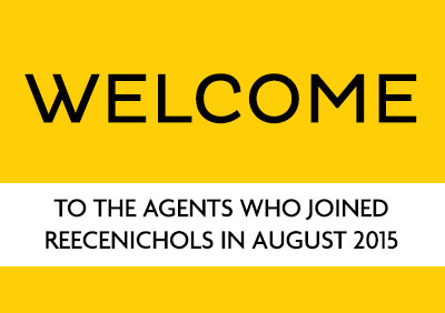 Welcome new agents August 2015