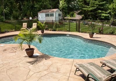 backyard-pool-fence-shed