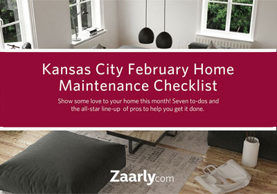 February Home Maintenance Checklist