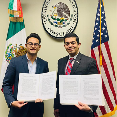ReeceNichols Real Estate has formed a partnership with the Mexican Consulate in Kansas City.