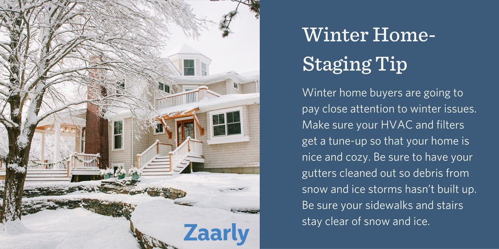 Winter Home Staging Tips | ReeceNichols Leawood